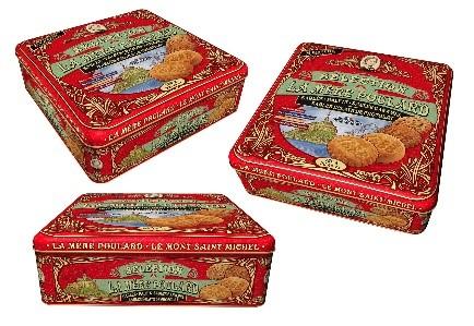 La Mére Poulard Coffret Assortiment 4 Biscuits