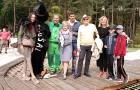 Hrušková s Přeučilem a rodinou i Štěpánka Duchková se syny si užili otevření nového přírodního zábavního parku