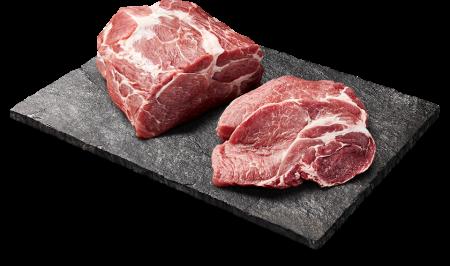 maso na břidlicové desce