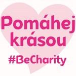 Logo charitativního projektu Pomáhej krásou