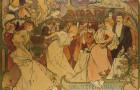 Lendlova sbírka Muchových plakátů se vrací do Obecního domu
