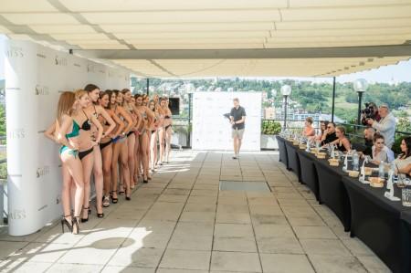 závěrečný casting na Českou Miss 2020