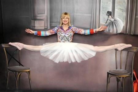 Štěpánka Duchková jako baletka