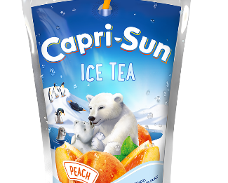 Capri-Sun Ice Tea Peach