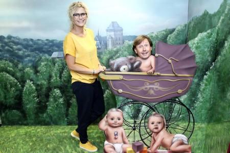Katerina Stocesová a její nové miminko Pavel Kožíšek