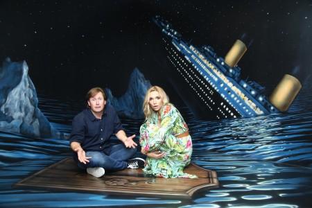 Ztroskotanci Pavel Kožíšek a Hana Mašlíková Reinders
