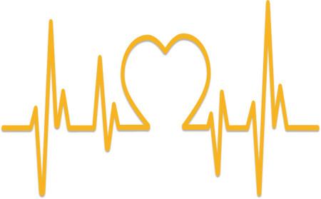 nympharm EKG krivka