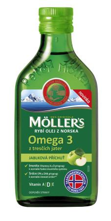 Mollers_RybiOlej_jablko_250ml_359Kc