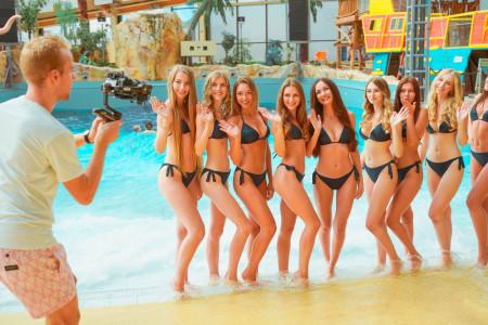 Poslední společný den natáčení finalistek Miss České republiky