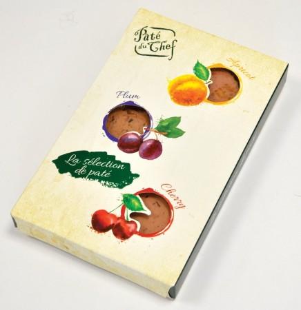 La sélection de paté s ovocem