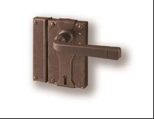 kované dveřní kliky
