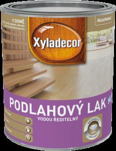 XYLADECOR_Podlahovy lak_Na vodni bazi_0,75L_Cena od 365 Kc