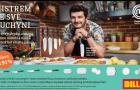 BILLA spouští letošní první věrnostní kampaň, kterou propojuje s Romanem Stašou, vítězem loňské řady MasterChef Česko