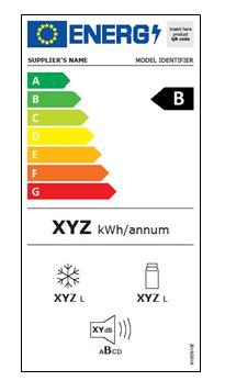 Energetický štítek pro chladničky platný od 1.3.2021