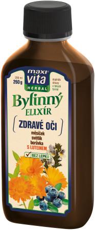 MaxiVita_BylinnyElixir_Zdravé oči_200ml_65Kc