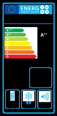 Původní energetický štítek pro chladničky