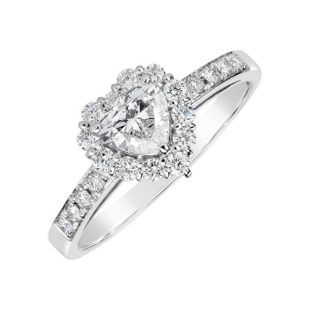 prsten_ALOve_bile_zlato_centralni_diamant0,49ct_21diamantu_cena_154 473Kc_www.alove.cz