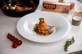 Špagety s tuňákem Rio Mare v olivovém oleji