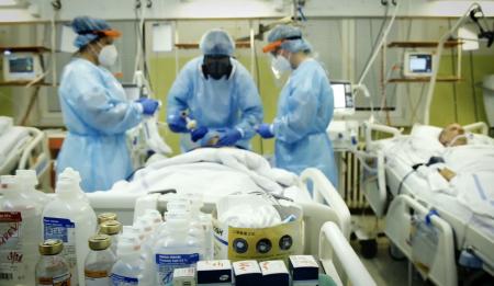 Slany covid pacient