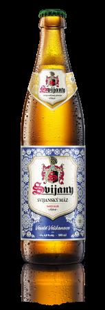 Velikonoční design lahvového piva Svijanský Máz