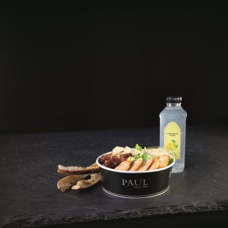 Pekasřtví PAUL_Caesar_salat+Citronova_voda