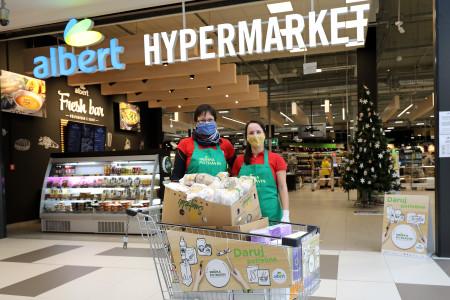 Sbírka potravin se letos uskuteční v rekordním počtu prodejen Albert