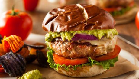 Homemade Healthy Turkey Burgers