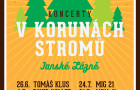 Užijte si léto naplno a vyrazte na Koncerty v korunách stromů