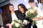 Debutové album Bena & Matea pokřtila zpěvačka Lucie Bílá