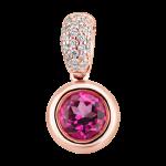 privesek_ALOdiamonds_ruzove_zlato_diamanty_topaz pink_cena 17 499Kc