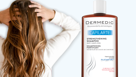 Dermedic Capilarte_ Posilující šamon proti vypadávání vlasů
