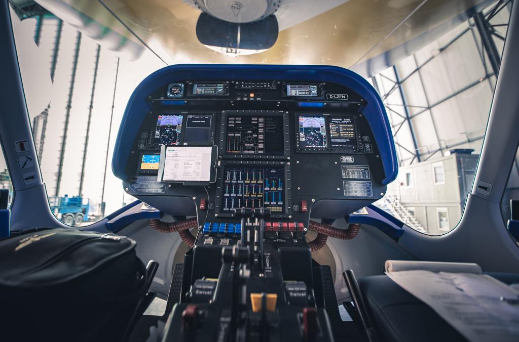 Vzducholoď Goodyear kabina